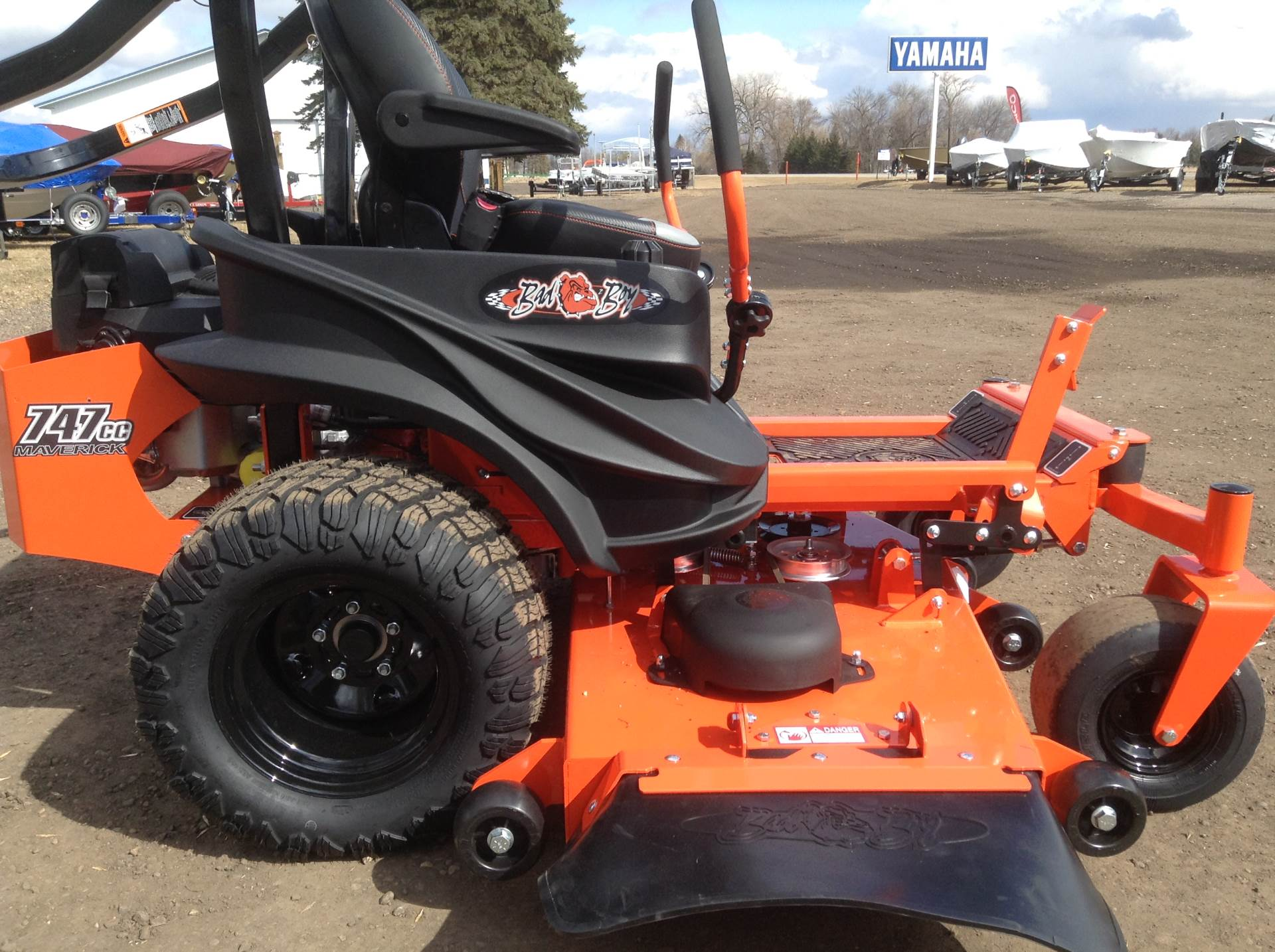"2019 Bad Boy Mowers Maverick 60"" in Hutchinson, Minnesota - Photo 1"