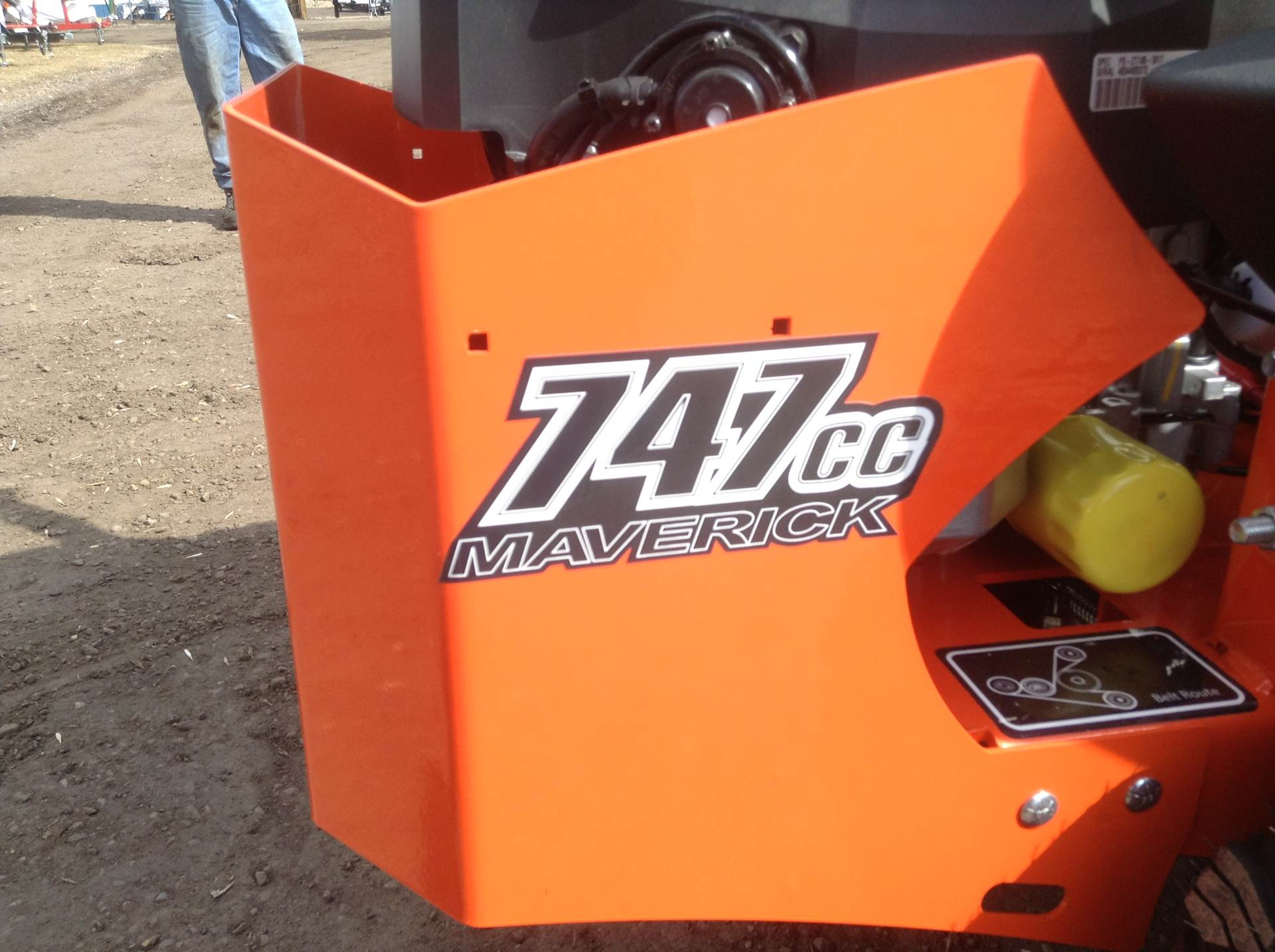 "2019 Bad Boy Mowers Maverick 60"" in Hutchinson, Minnesota - Photo 6"