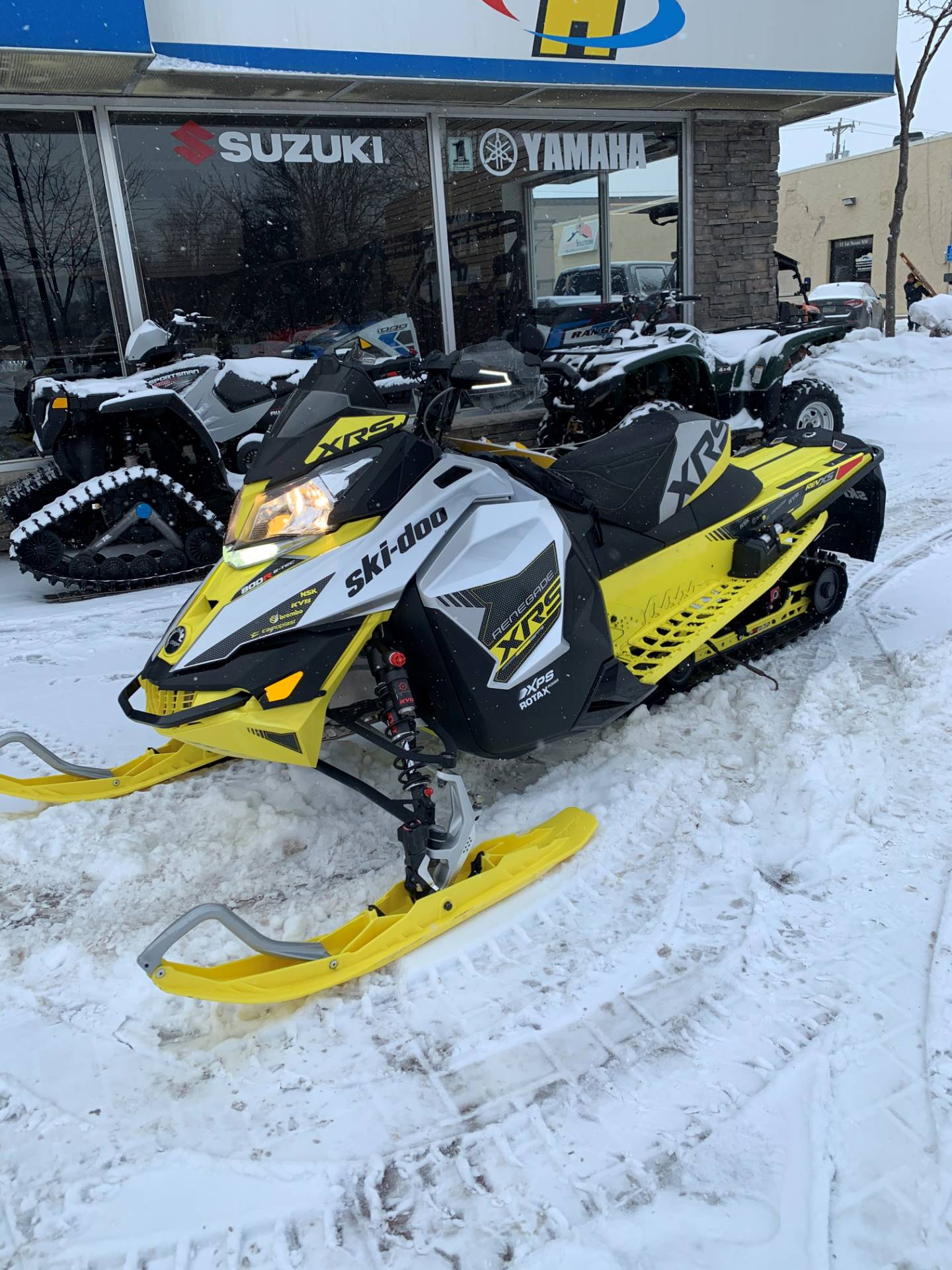 "2016 Ski-Doo Renegade X-RS 800R E-TEC ES w/ Adj. pkg, Ripsaw 1.5"" in Osseo, Minnesota - Photo 1"