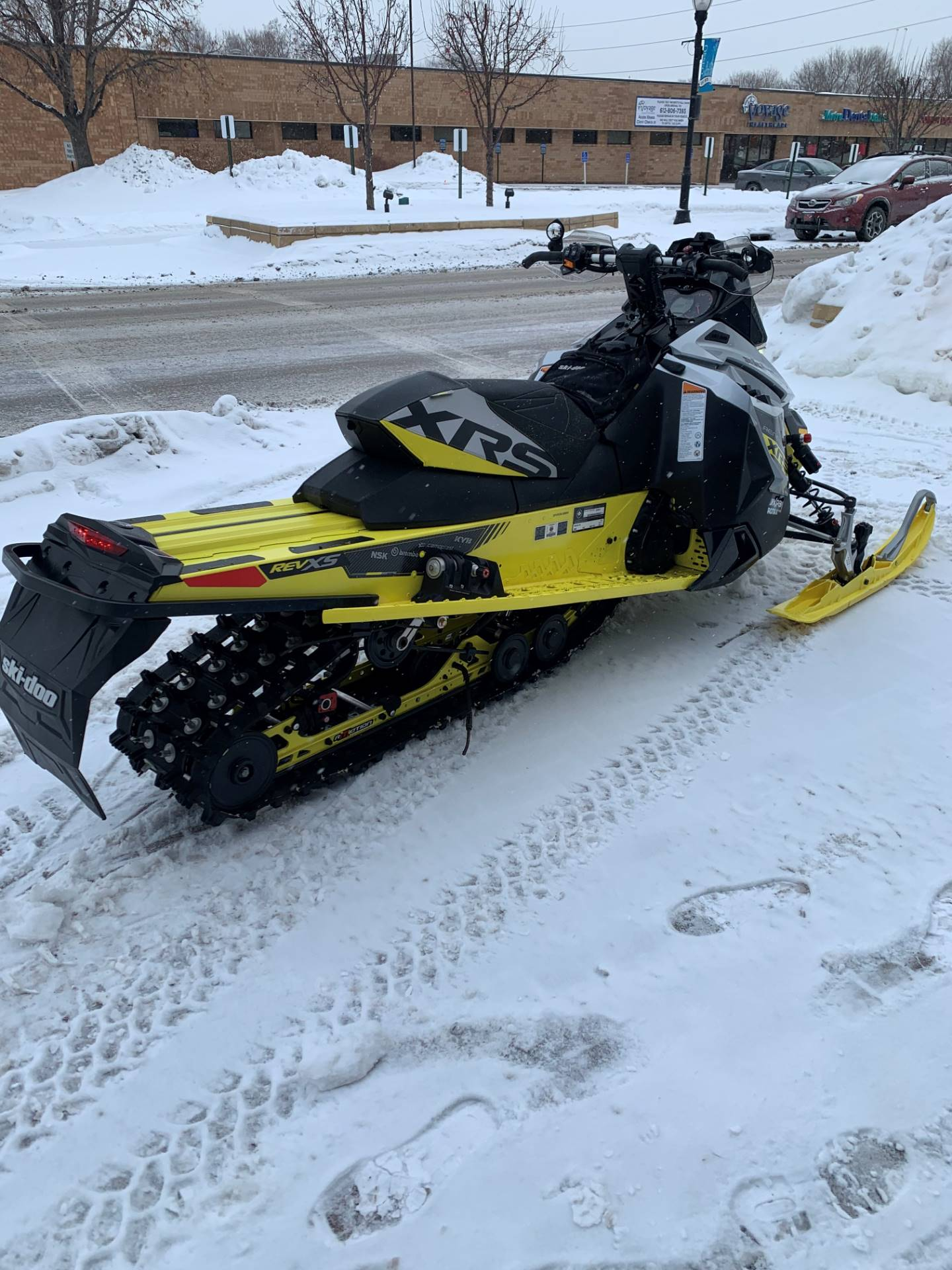"2016 Ski-Doo Renegade X-RS 800R E-TEC ES w/ Adj. pkg, Ripsaw 1.5"" in Osseo, Minnesota - Photo 4"