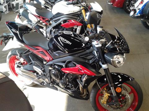 2016 Triumph Street Triple Rx ABS in Bakersfield, California