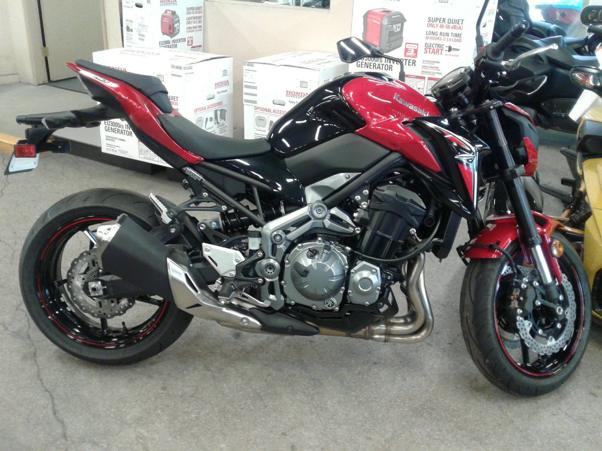 new 2018 kawasaki z900 abs motorcycles in bakersfield ca. Black Bedroom Furniture Sets. Home Design Ideas