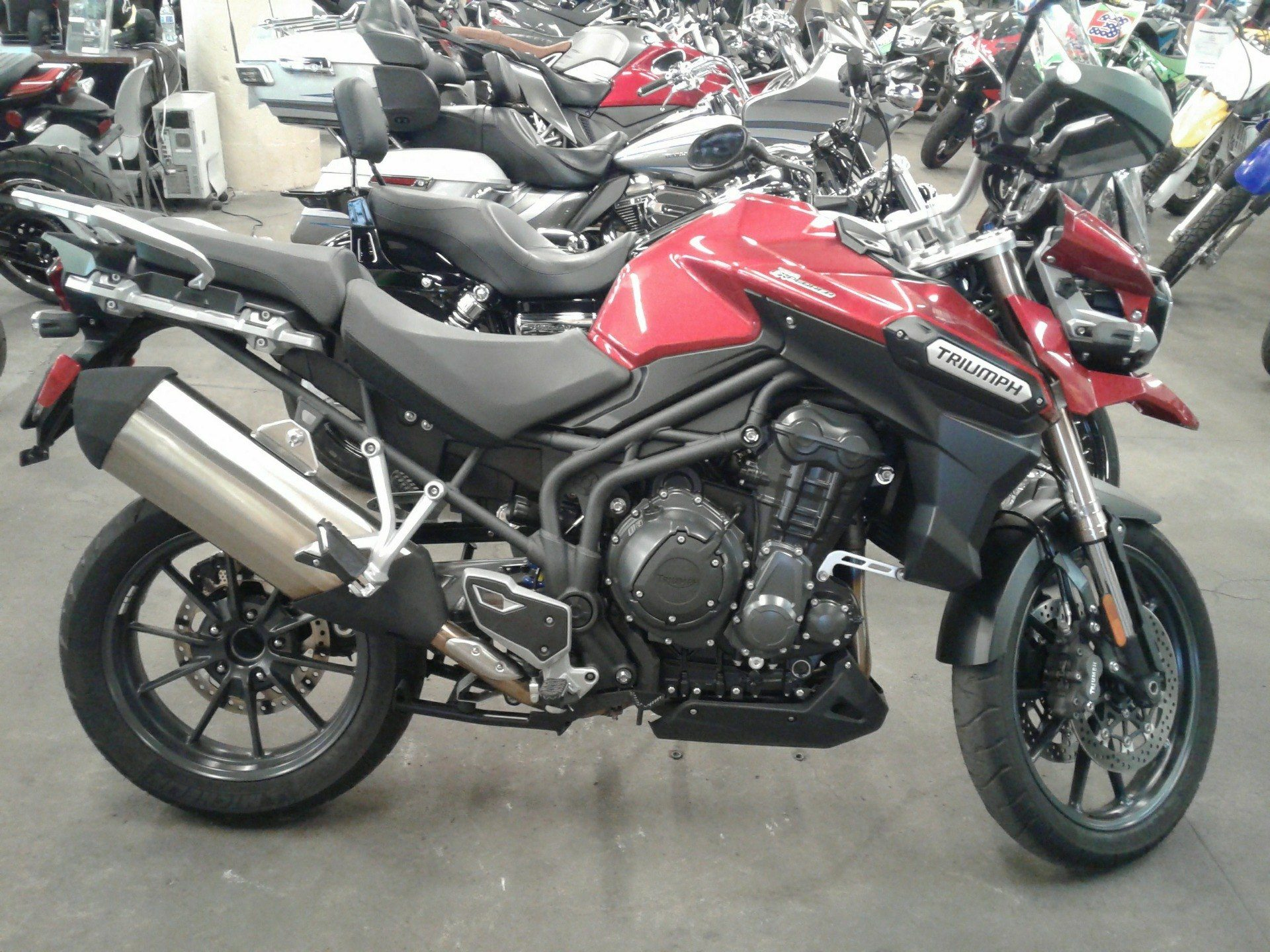 New 2015 Triumph Tiger Explorer Abs Motorcycles In Bakersfield Ca