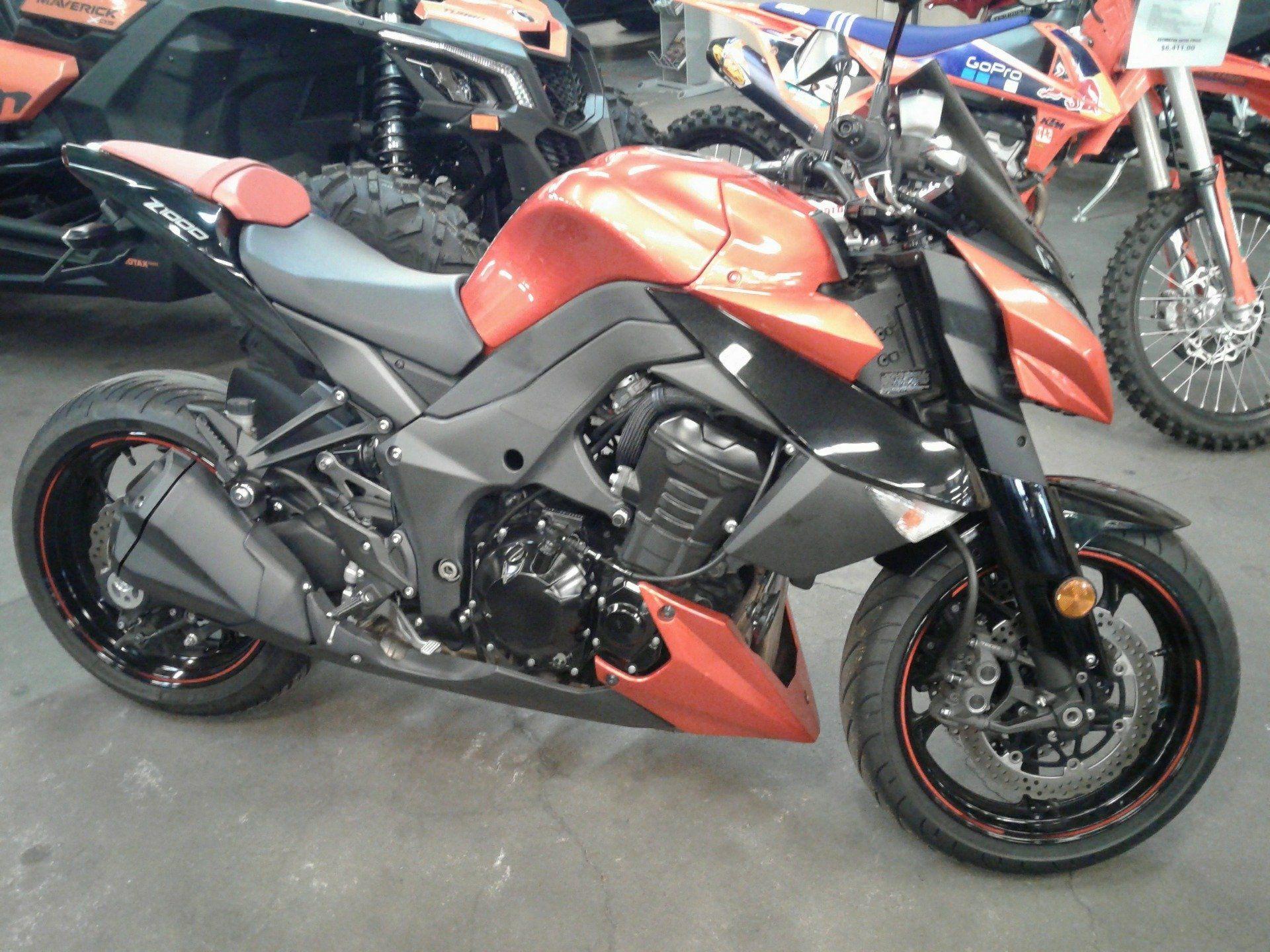 Used 2012 Kawasaki Z1000 Motorcycles In Bakersfield Ca Stock