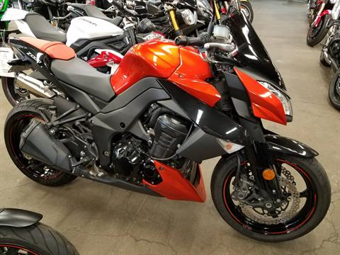 2012 Kawasaki Z1000 in Bakersfield, California