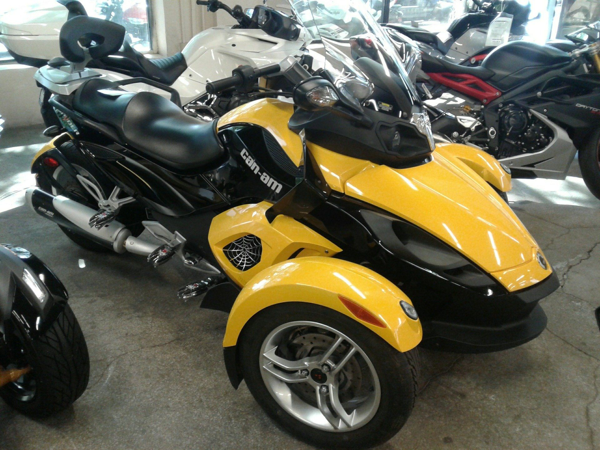 2008 Can Am Spyder™ GS SM5 Motorcycles Bakersfield California