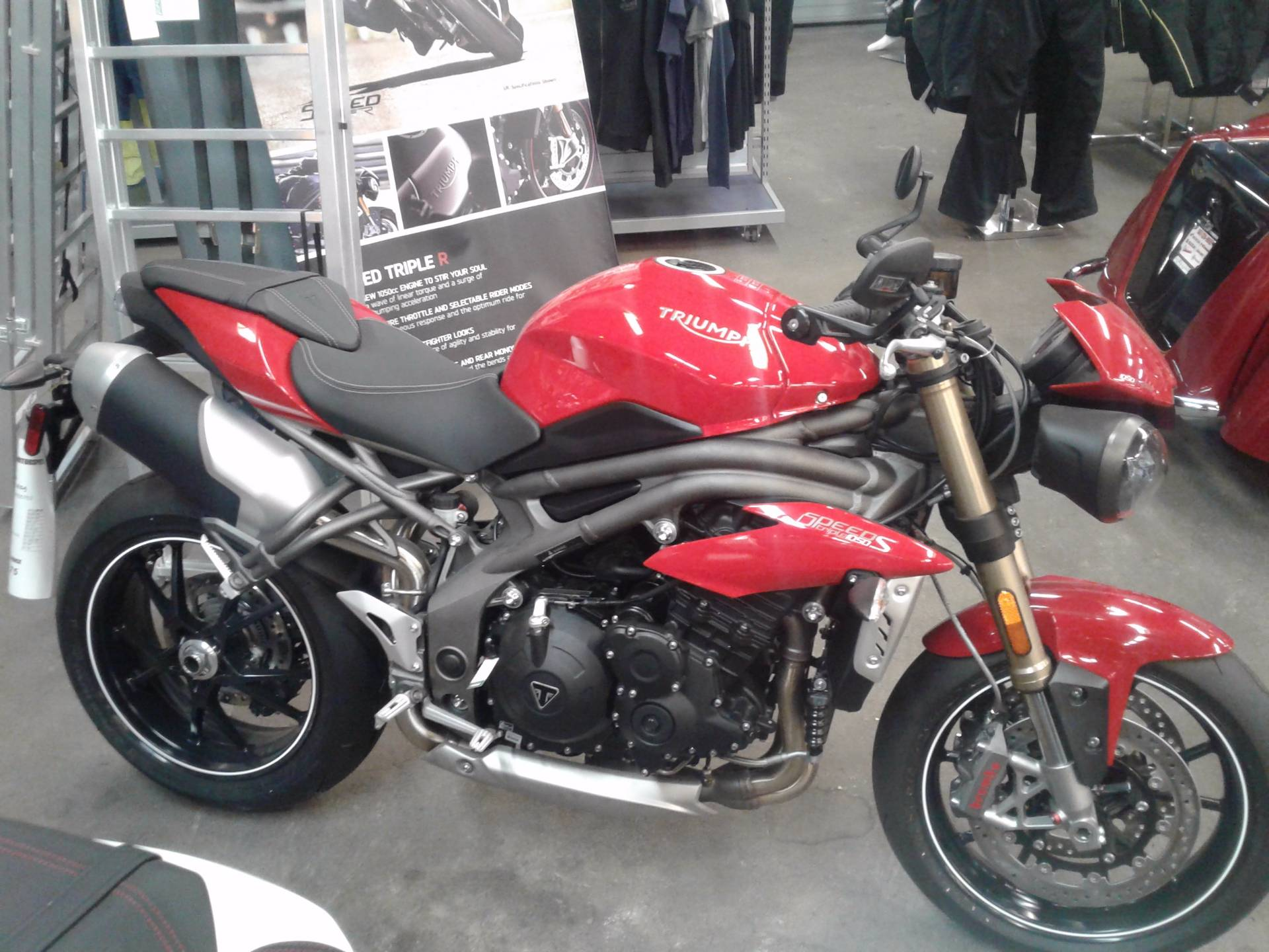 2016 Triumph Speed Triple S ABS in Bakersfield, California