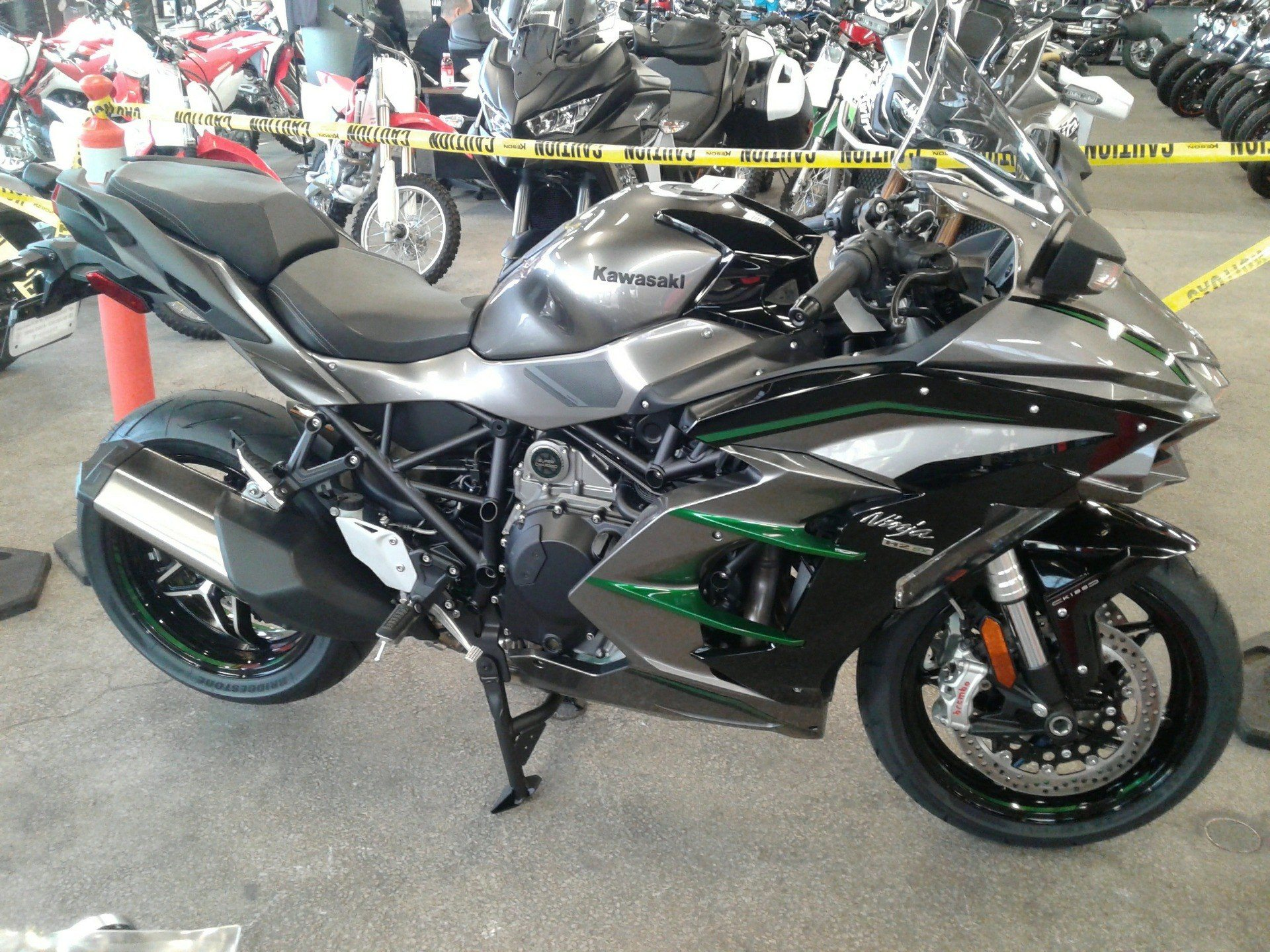 New 2019 Kawasaki Ninja H2 Sx Se Motorcycles In Bakersfield Ca
