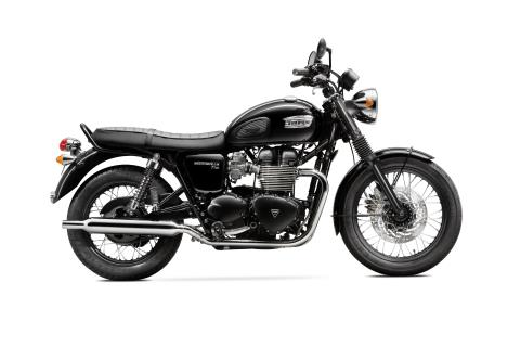 2016 Triumph Bonneville T100 Black in Bakersfield, California