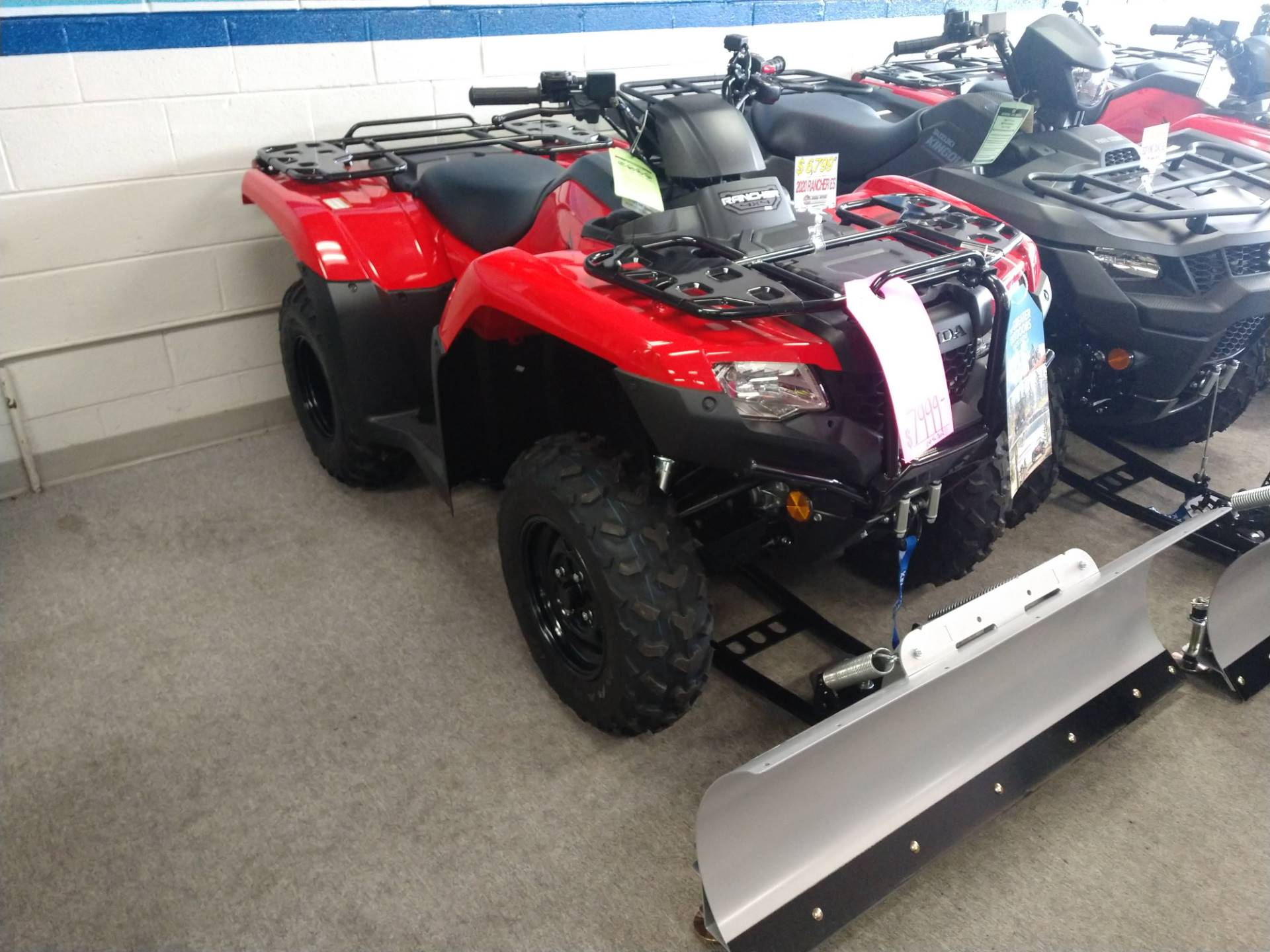 2020 Honda FourTrax Rancher 4x4 ES in Warren, Michigan - Photo 1