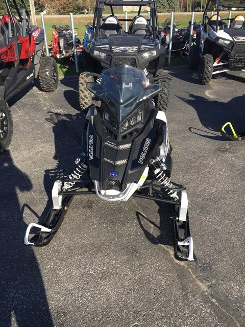 2017 Polaris 600 RUSH PRO-S SnowCheck Select in Rushford, Minnesota