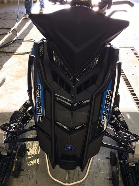 "2017 Polaris 600 Switchback Assault 144 2.0"" ES in Rushford, Minnesota"