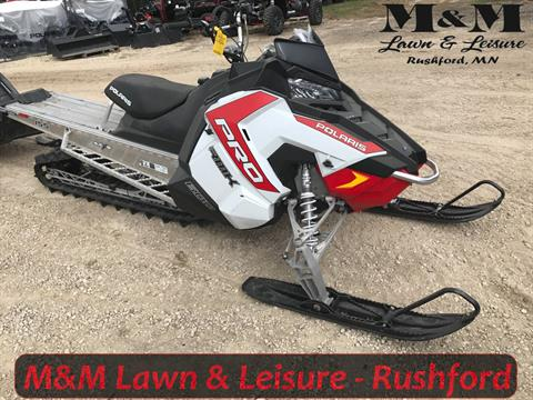 2016 Polaris 600 PRO-RMK 155 ES in Rushford, Minnesota