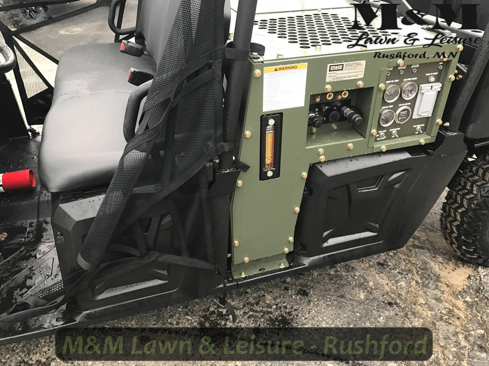2014 Polaris RANGER® HIPPO™ MULTIPOWER SYSTEM in Rushford, Minnesota