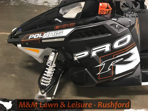 2014 Polaris 800 RUSH® PRO-R LE with ES in Rushford, Minnesota