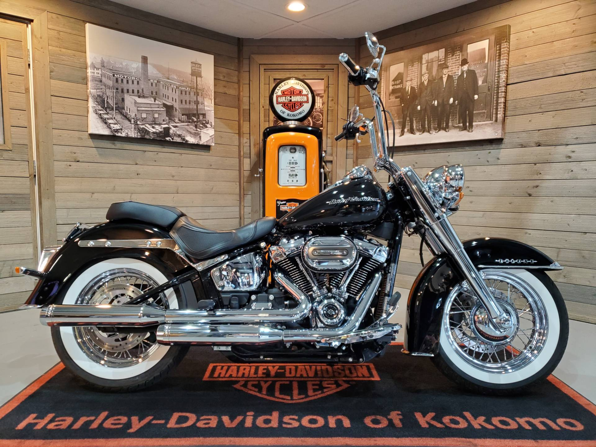 2018 Harley-Davidson Softail® Deluxe 107 in Kokomo, Indiana - Photo 1