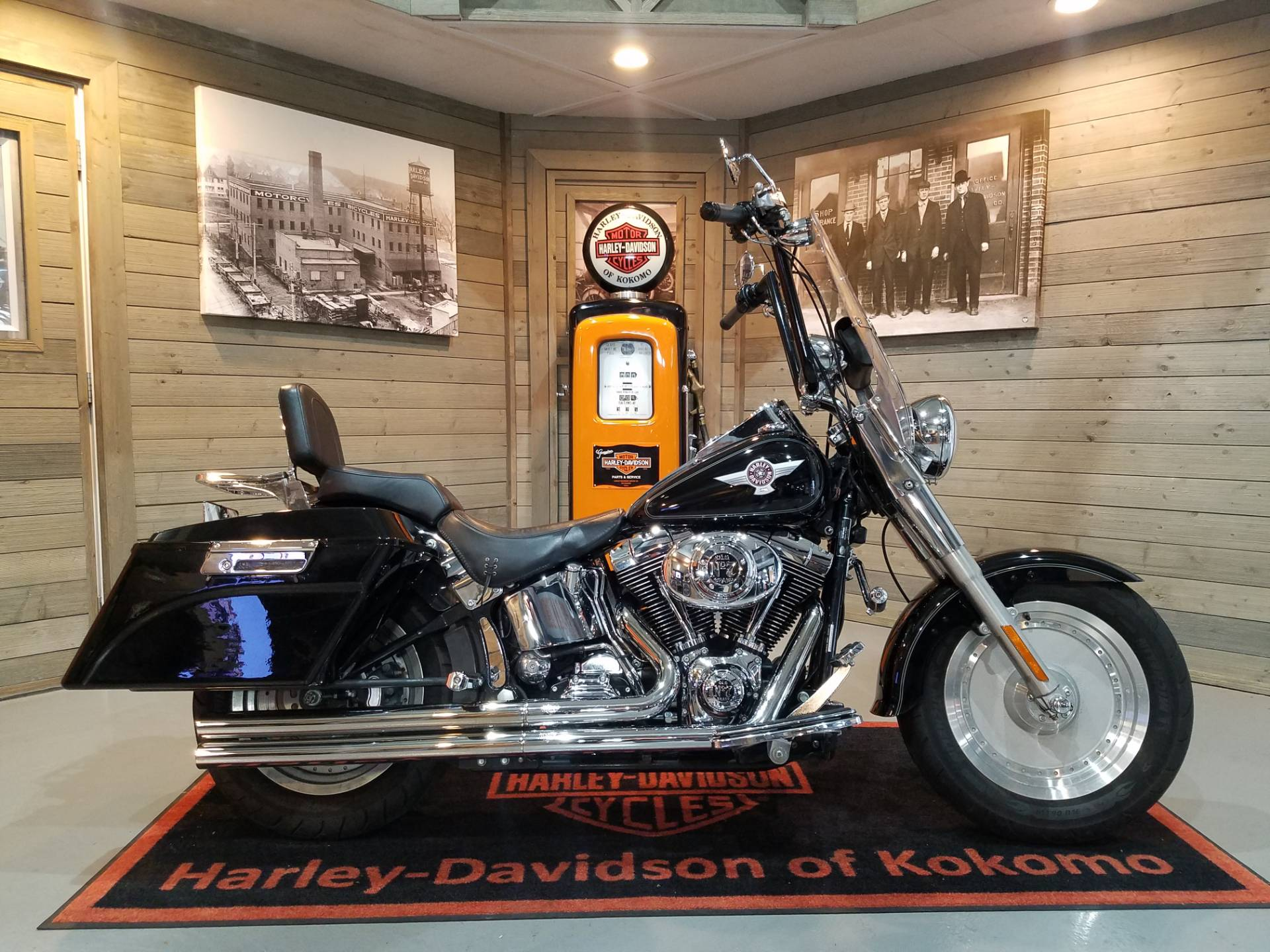 2005 Harley-Davidson FLSTF/FLSTFI Fat Boy® in Kokomo, Indiana - Photo 1