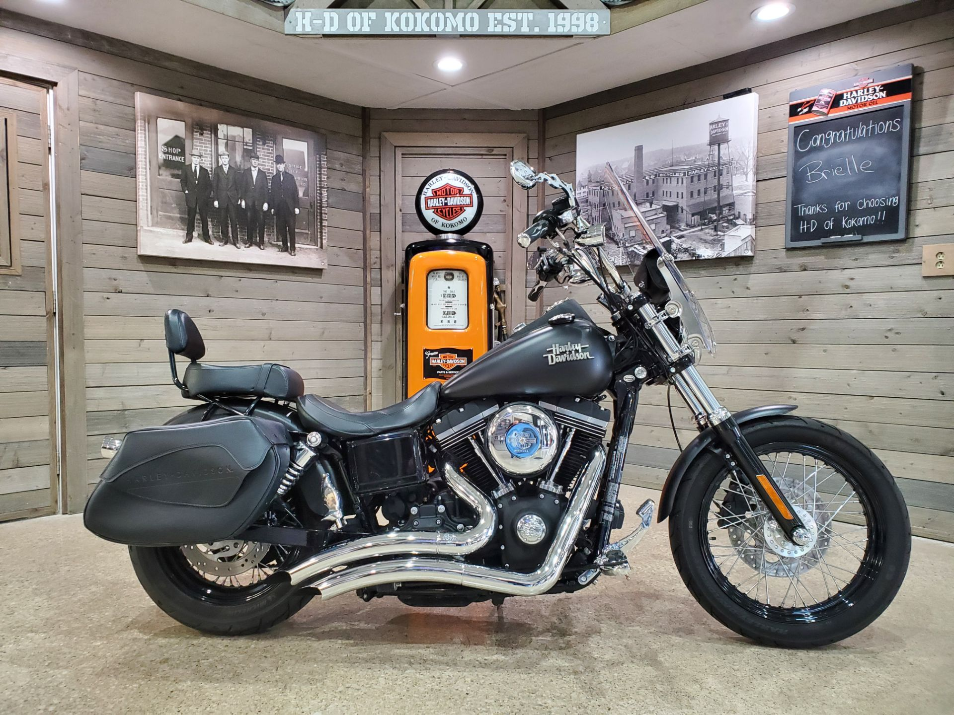 2016 Harley-Davidson Street Bob® in Kokomo, Indiana - Photo 1