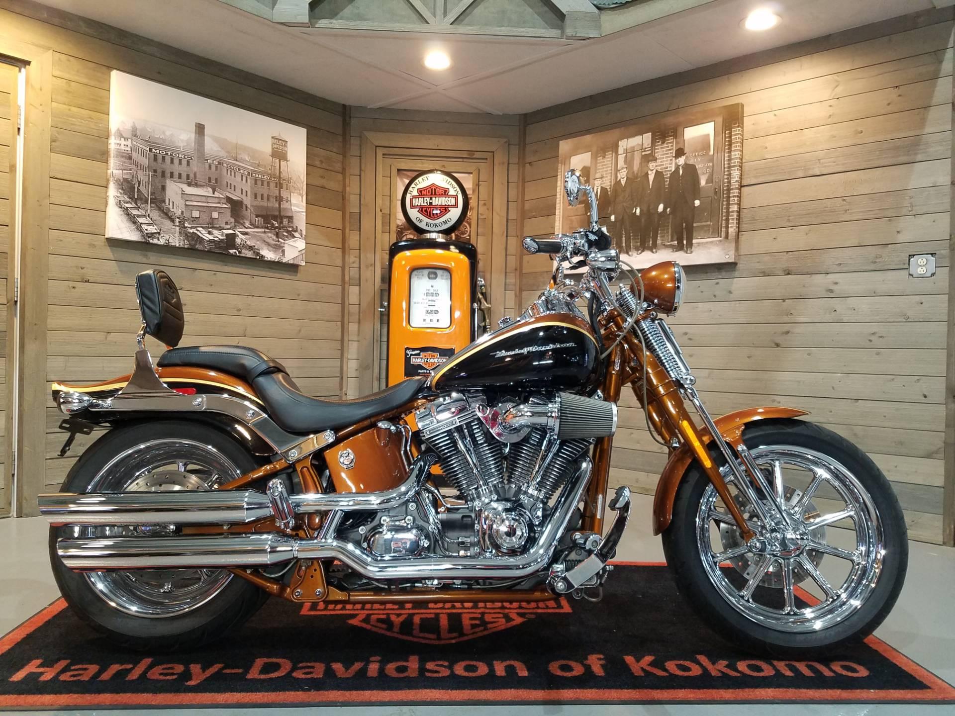 Harley Davidson Used >> 2008 Harley Davidson Cvo Screamin Eagle Softail Springer In Kokomo Indiana