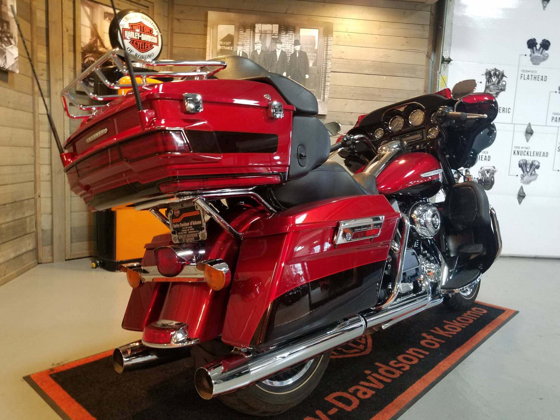 2012 Harley-Davidson Electra Glide® Ultra Limited in Kokomo, Indiana - Photo 3