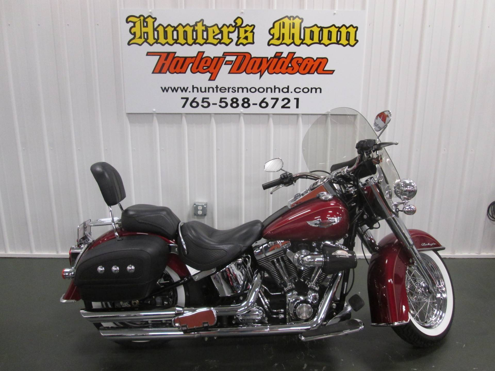 2010 Harley-Davidson Softail® Deluxe in Lafayette, Indiana - Photo 1