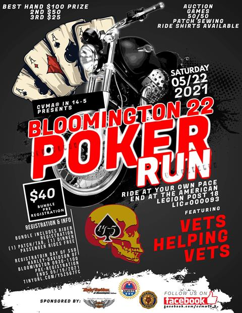 Bloomington 22 Poker Run