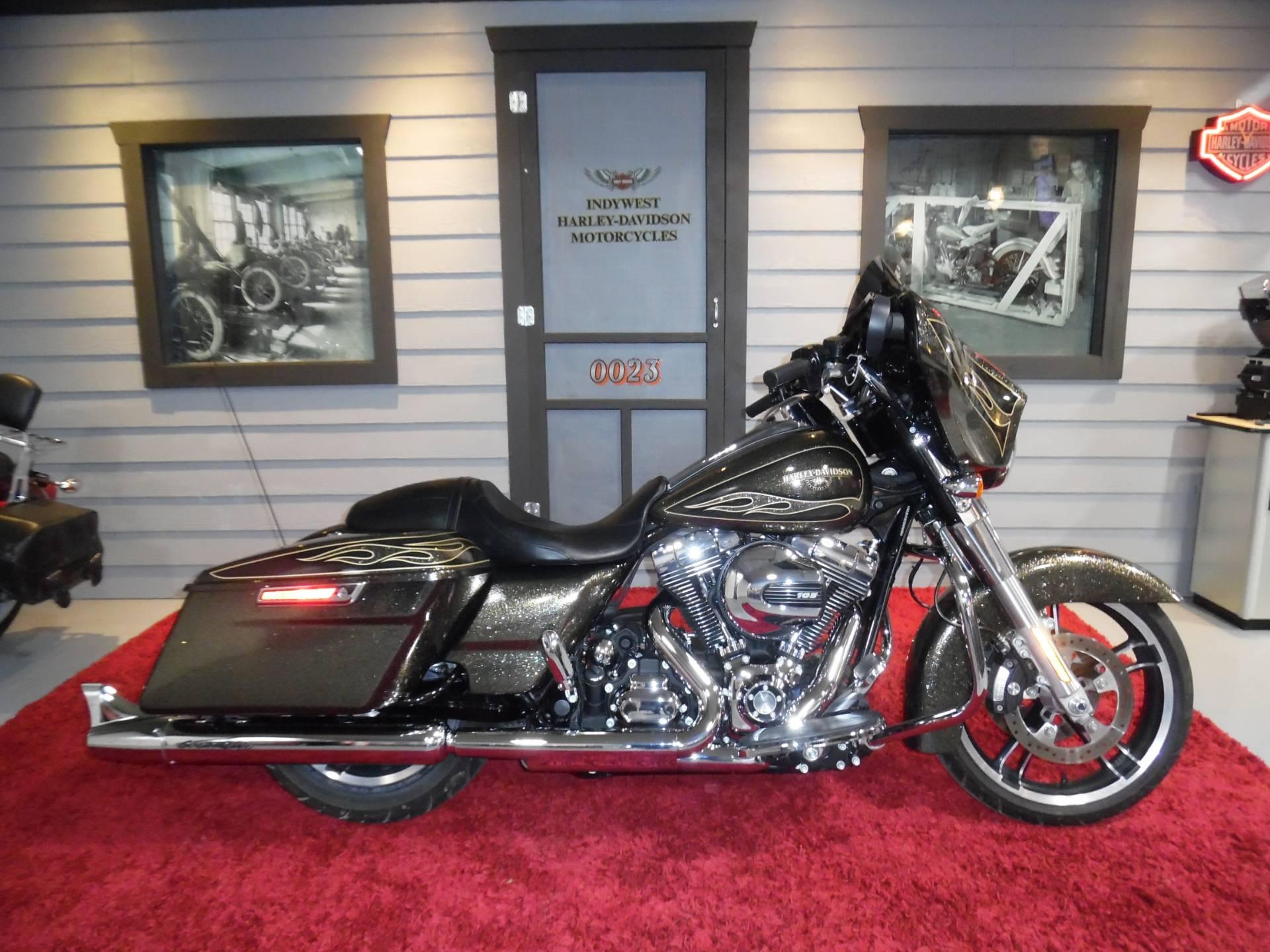 Used 2016 Harley Davidson Street Glide Special Hard Candy Black