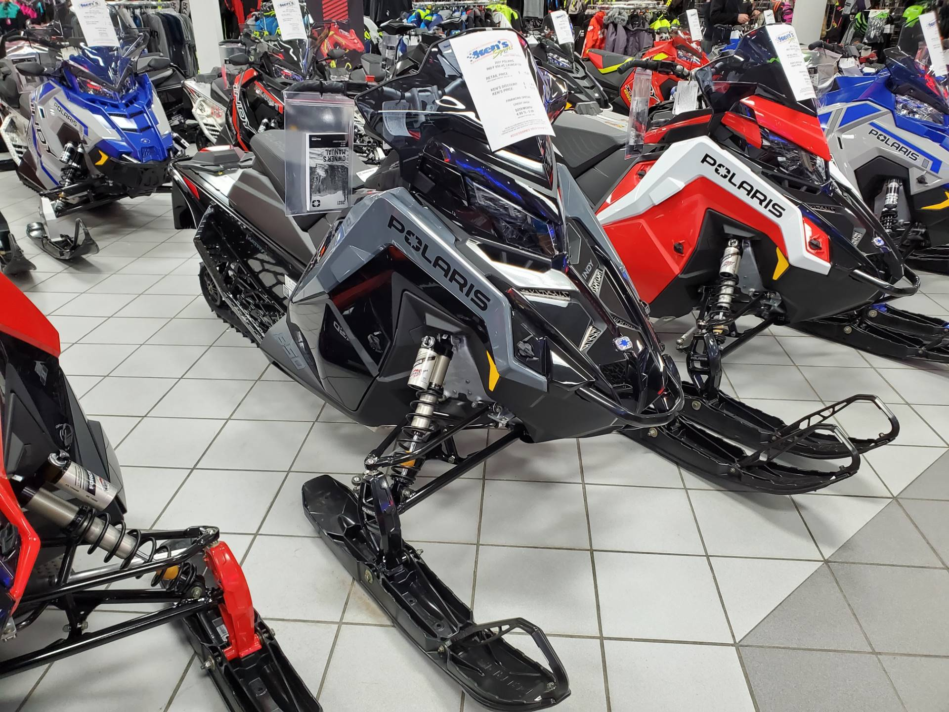 2021 Polaris 850 Indy XC 129 Launch Edition Factory Choice in Kaukauna, Wisconsin - Photo 1