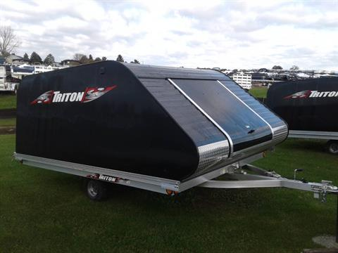 2019 Triton Trailers XT12-101SQ COVERALL in Kaukauna, Wisconsin