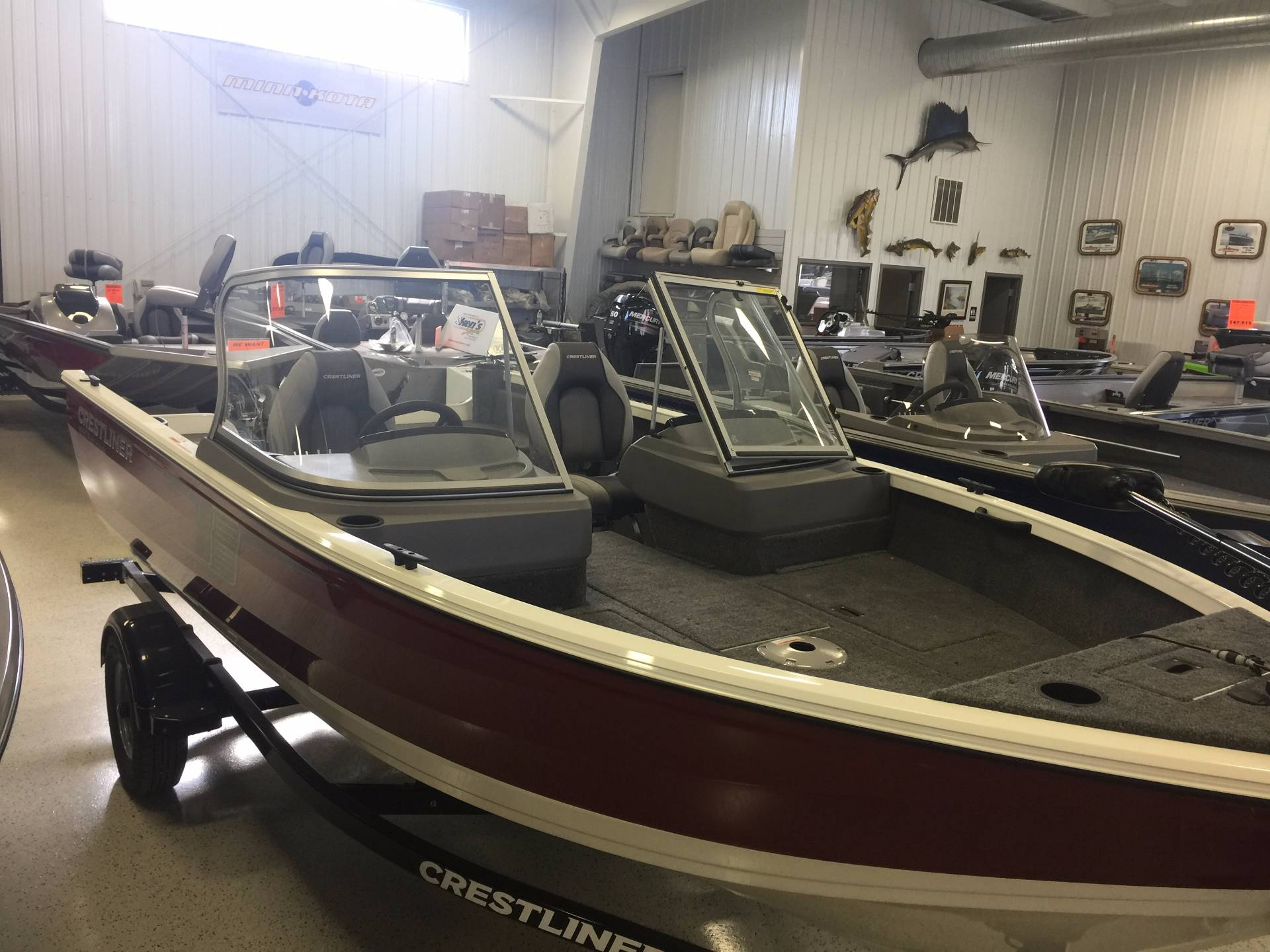 2017 Crestliner 1650 Fish Hawk WT in Kaukauna, Wisconsin