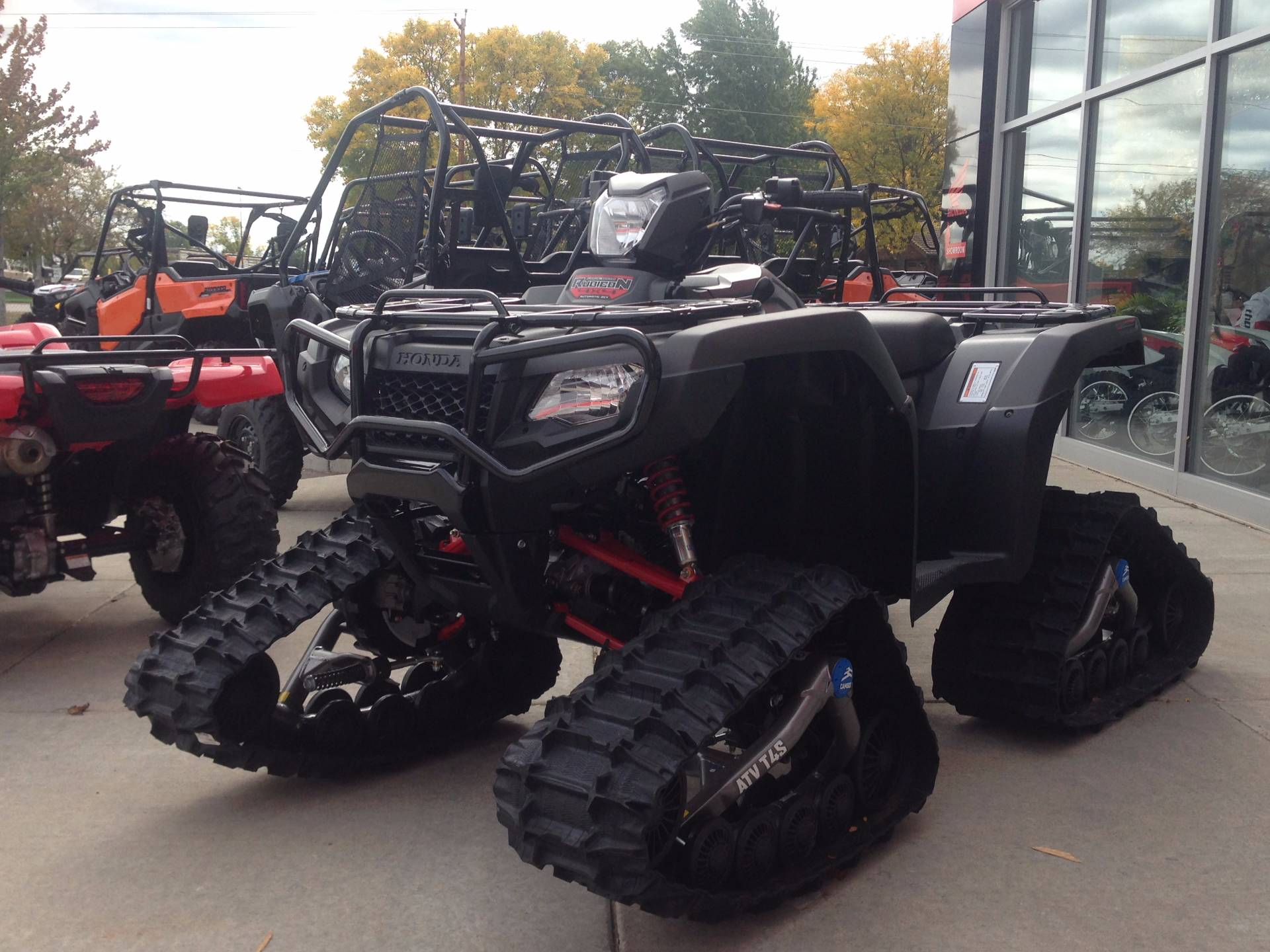 2017 Honda FourTrax Foreman Rubicon 4x4 DCT EPS Deluxe in Kaukauna, Wisconsin