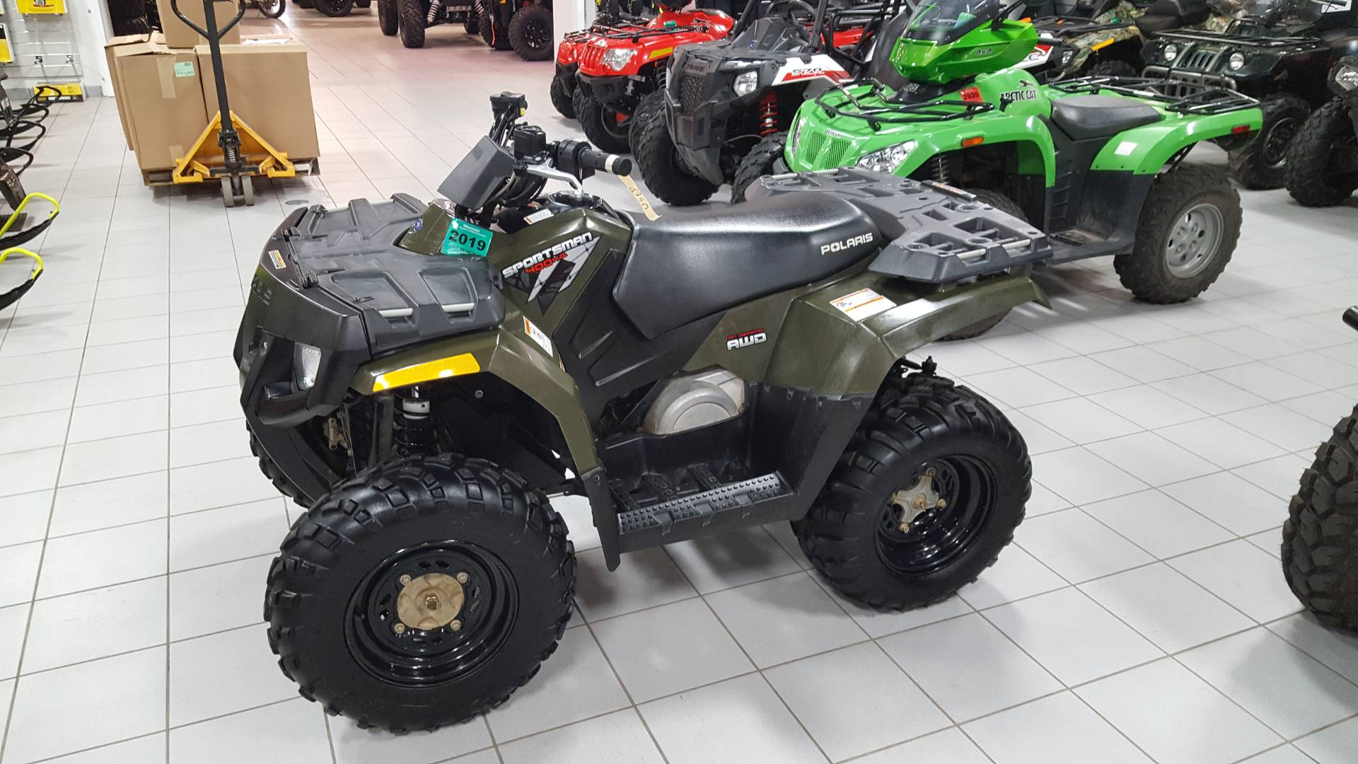 2009 Polaris Sportsman 400 H.O. 1