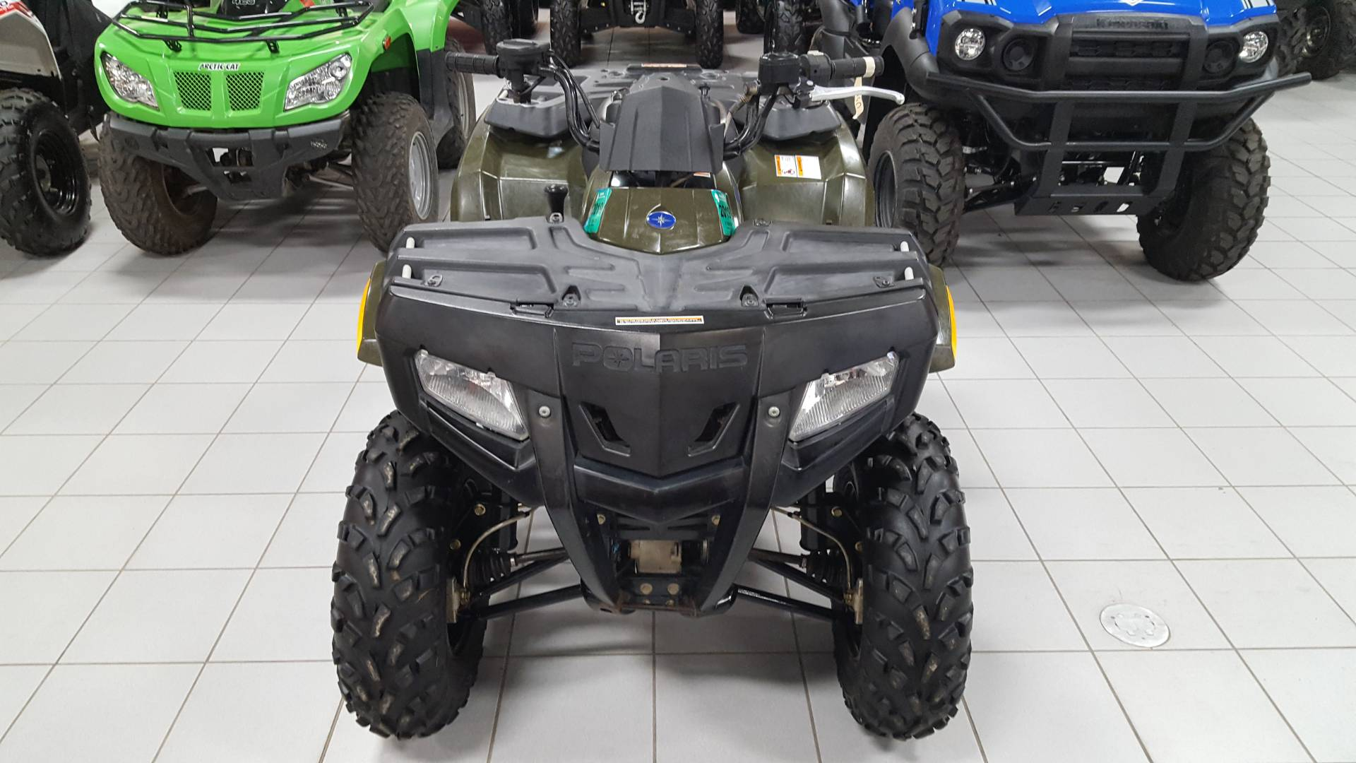 2009 Polaris Sportsman 400 H.O. 4