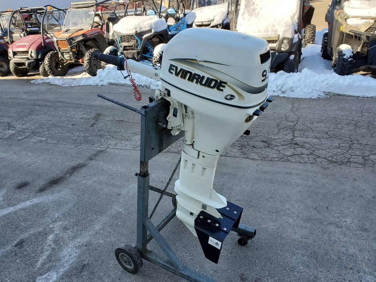 Evinrude E10TVX4SIC in Kaukauna, Wisconsin - Photo 4