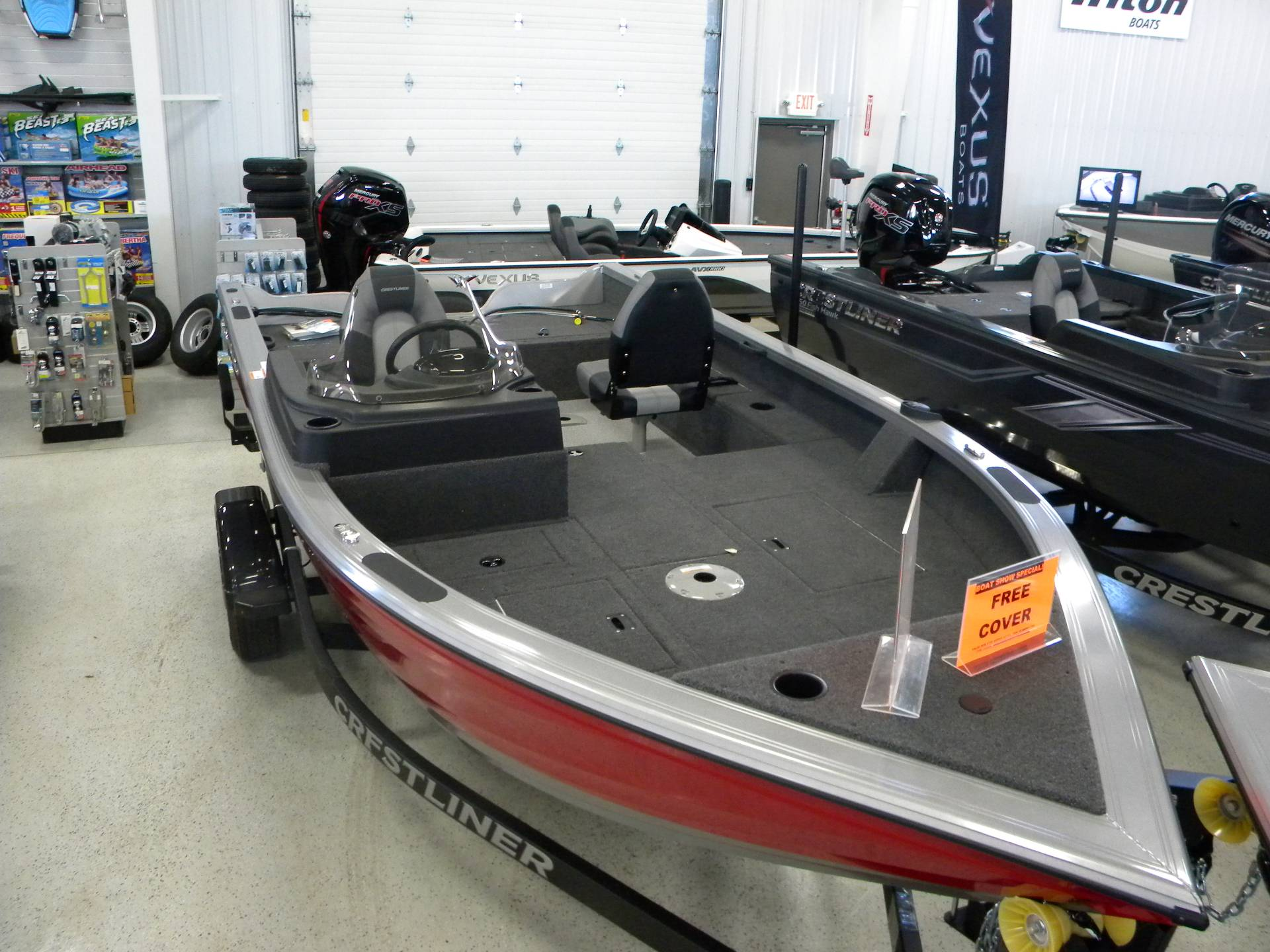 2019 Crestliner 1750 Fish Hawk SC in Kaukauna, Wisconsin - Photo 3