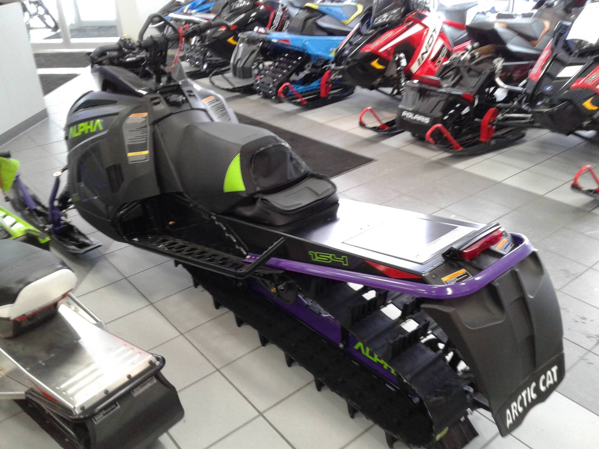 2019 Arctic Cat M 8000 Mountain Cat Alpha One 154 in Kaukauna, Wisconsin