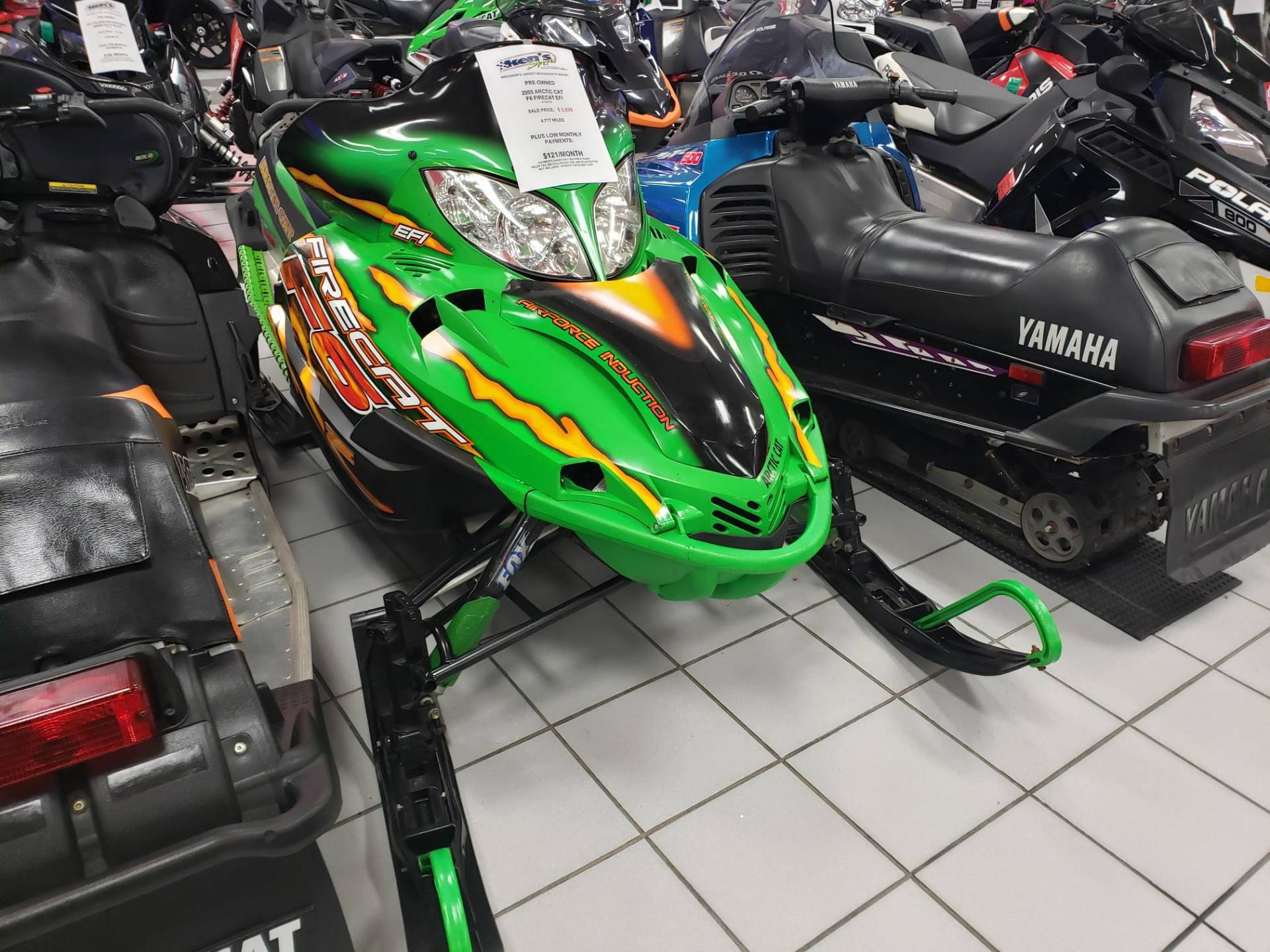2005 Arctic Cat F6 Firecat EFI for sale 41392