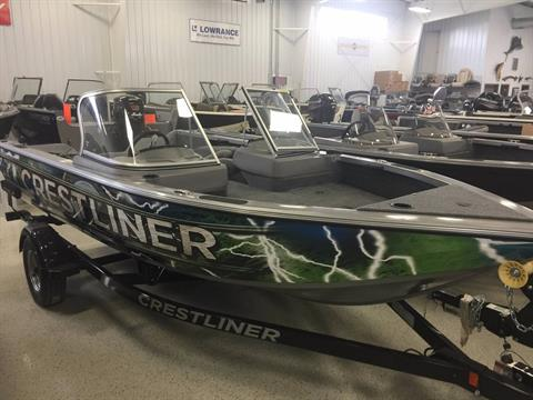 2017 Crestliner 1750 Fish Hawk WT in Kaukauna, Wisconsin
