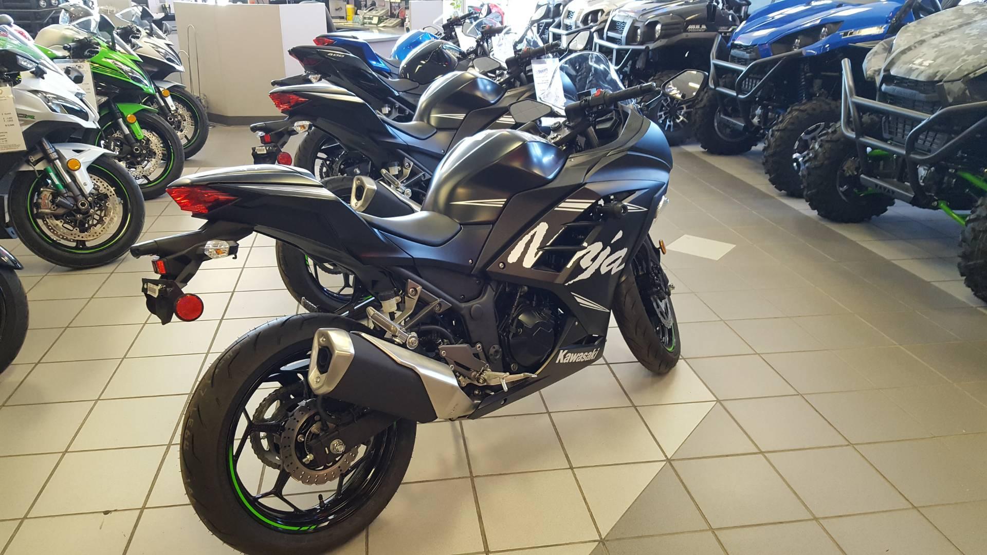 New 2017 Kawasaki Ninja 300 Abs Winter Test Edition Motorcycles In