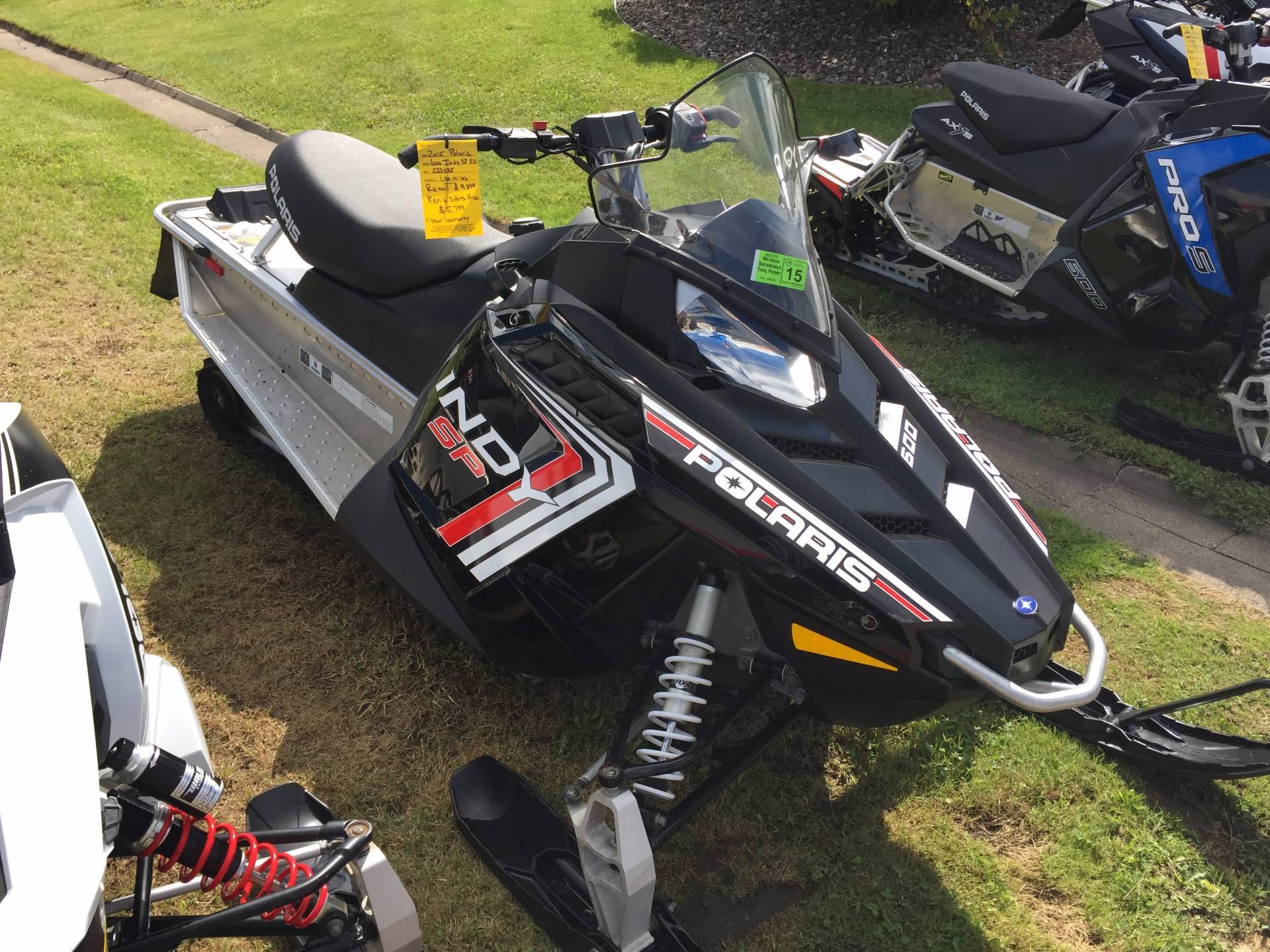 2015 600 Indy SP ES