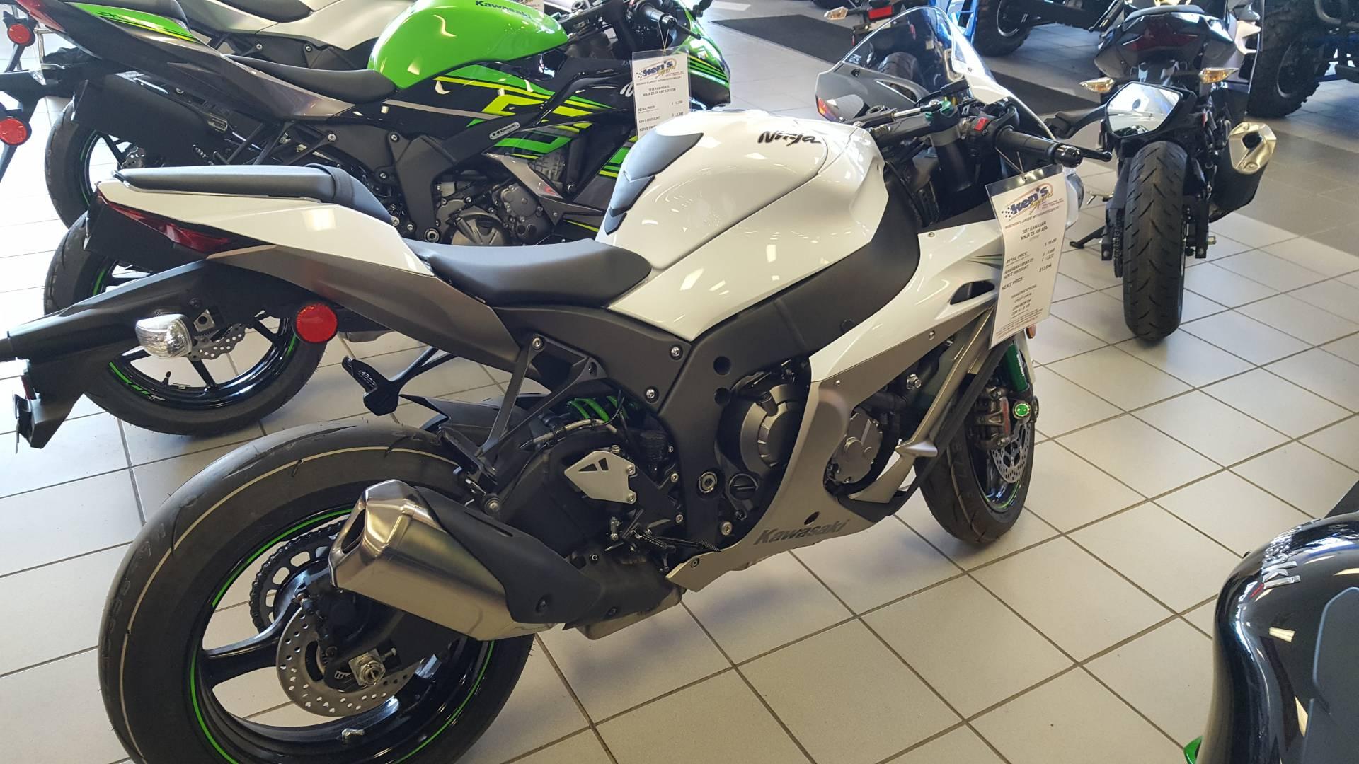 New 2017 Kawasaki Ninja Zx 10r Abs Motorcycles In Kaukauna Wi