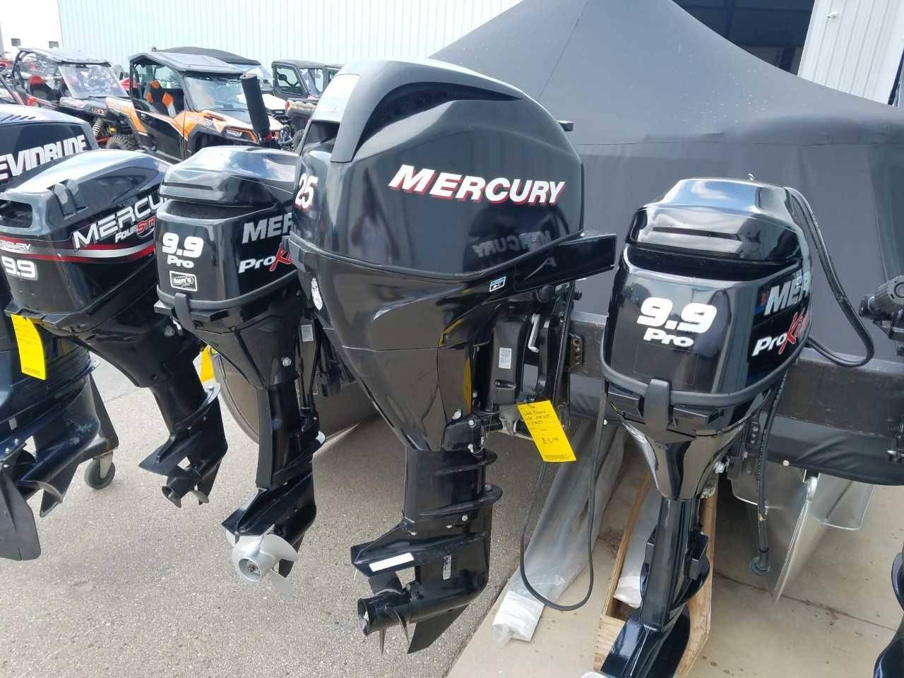 Used Mercury Marine Fourstroke 25 Efi Boat Engines In Kaukauna Wi 476597 Black