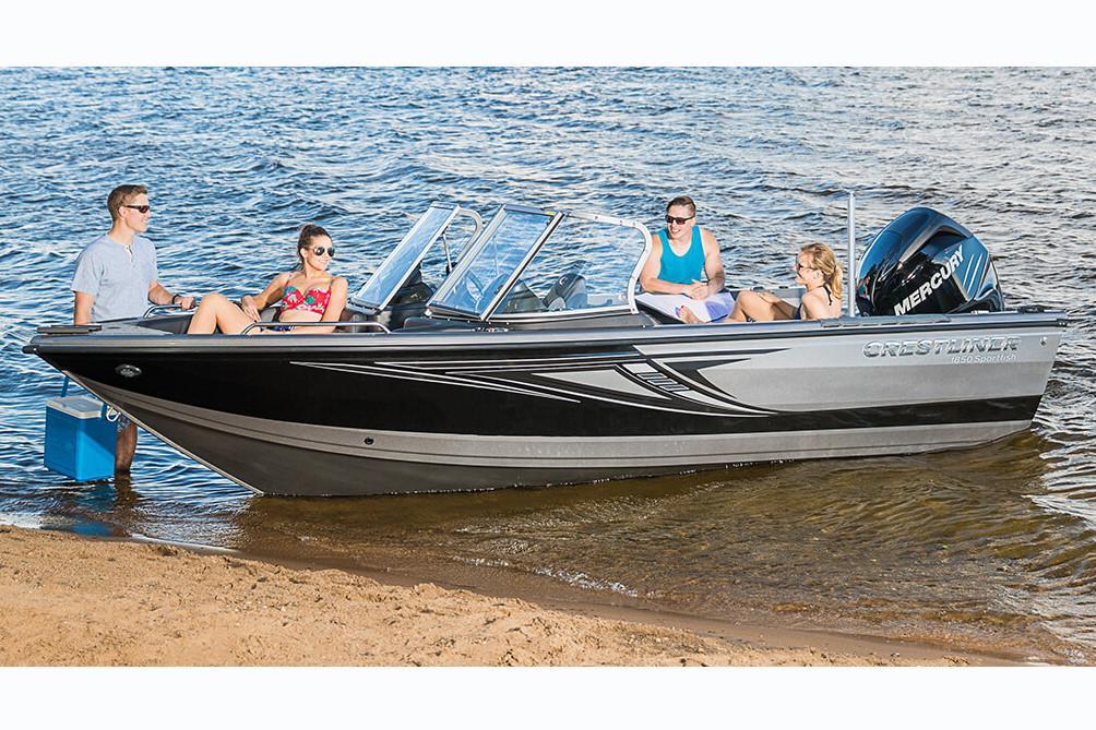 New 2018 Crestliner 1850 Sportfish Outboard Power Boats In Rhkenssports: Fuel Tank Location On 1850 Fishhawk At Elf-jo.com
