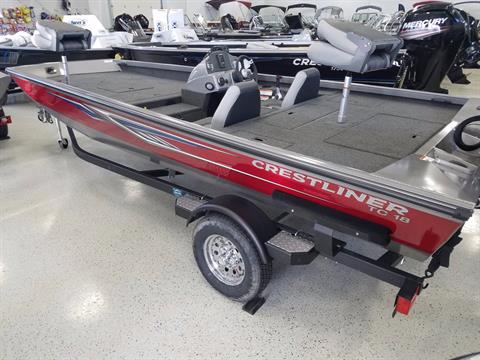 2017 Crestliner TC 18 in Kaukauna, Wisconsin