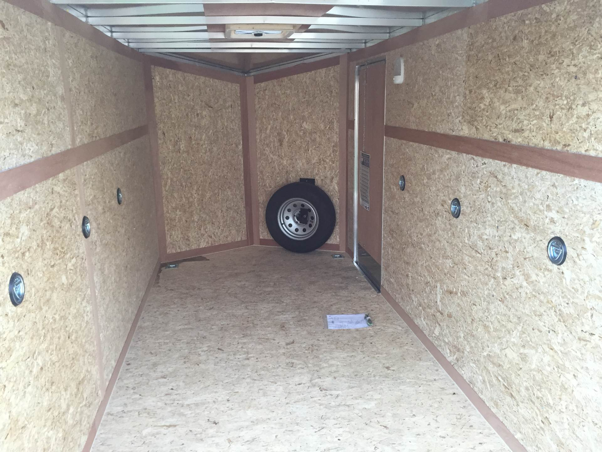 2017 US Cargo ATTX612SA AMERALITE 6X12 ENCLOSED CARGO TRAILER in Kaukauna, Wisconsin