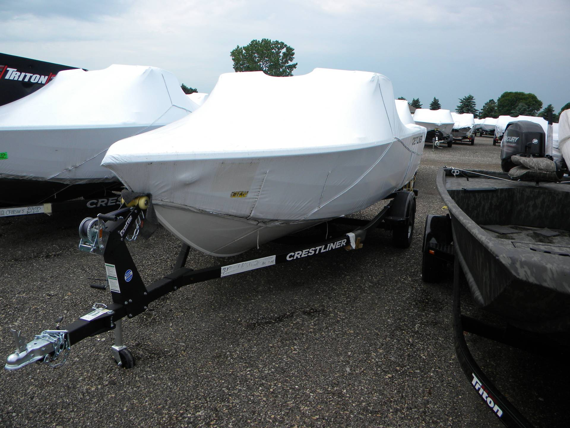 2019 Crestliner 1650 FISH HAWK SE WT in Kaukauna, Wisconsin - Photo 2