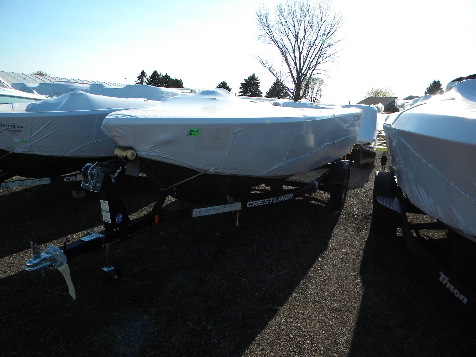 2019 Crestliner 1650 Fish Hawk SC JS in Kaukauna, Wisconsin