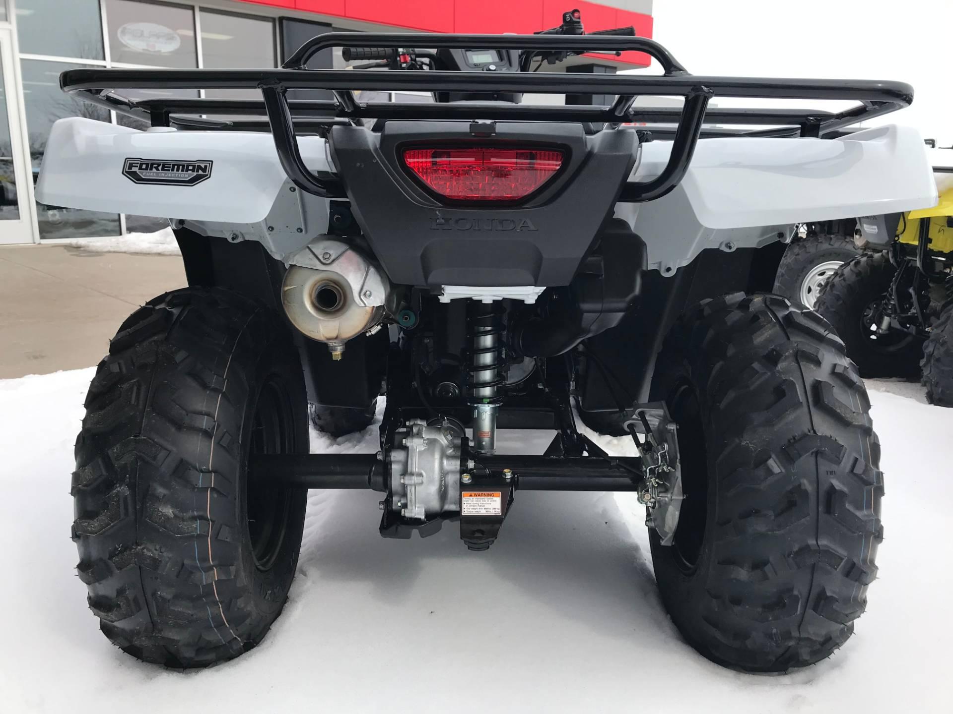2017 Honda FourTrax Foreman 4x4 4