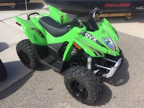 2017 Arctic Cat DVX 90 in Kaukauna, Wisconsin