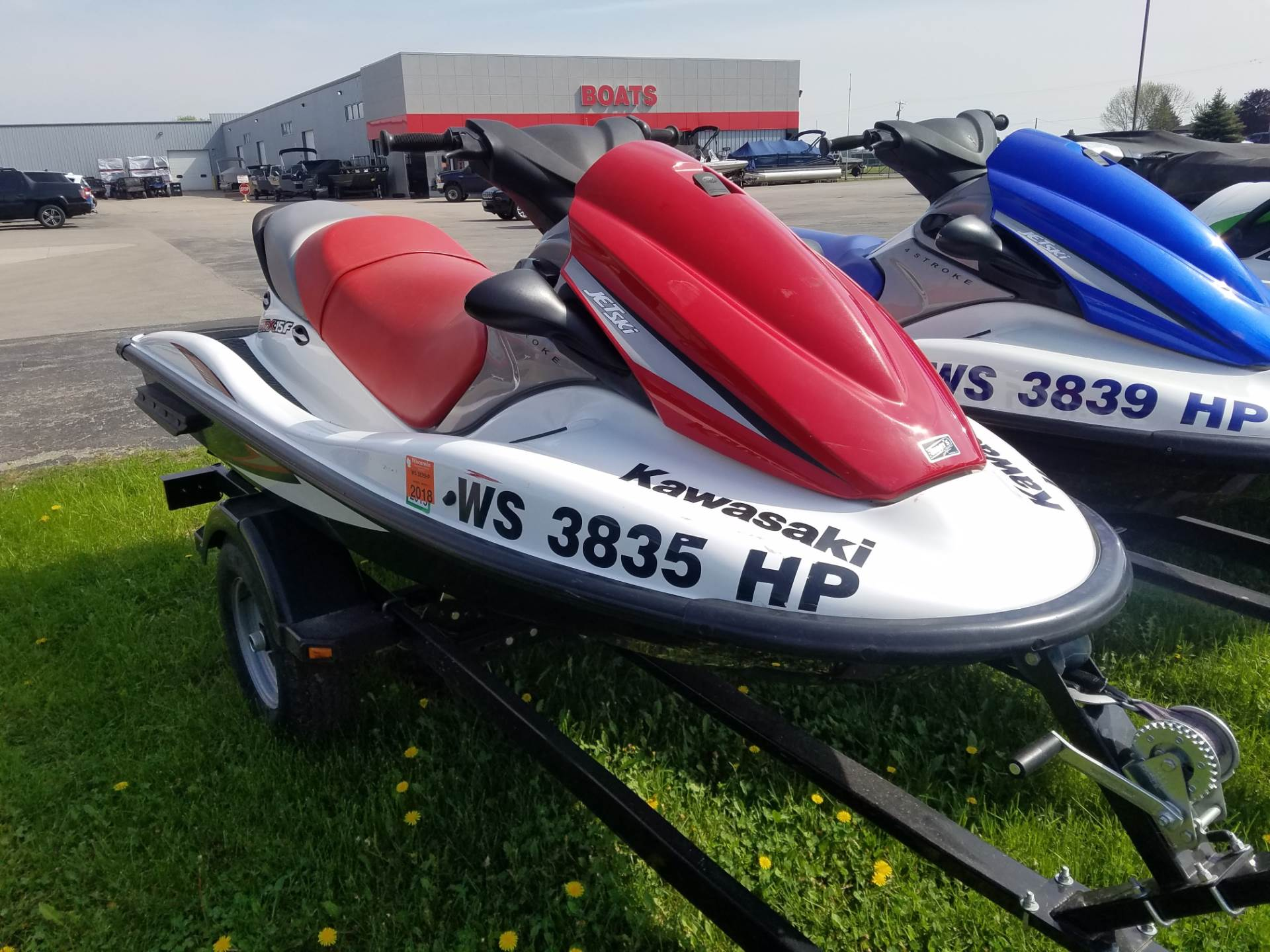 Used 2008 Kawasaki Jet Ski® STX®-15F Watercraft in Kaukauna, WI